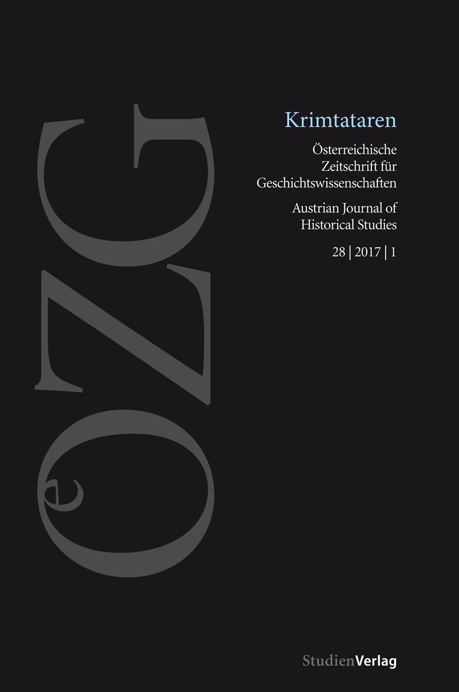 Ansehen Bd. 28 Nr. 1 (2017): Krimtataren