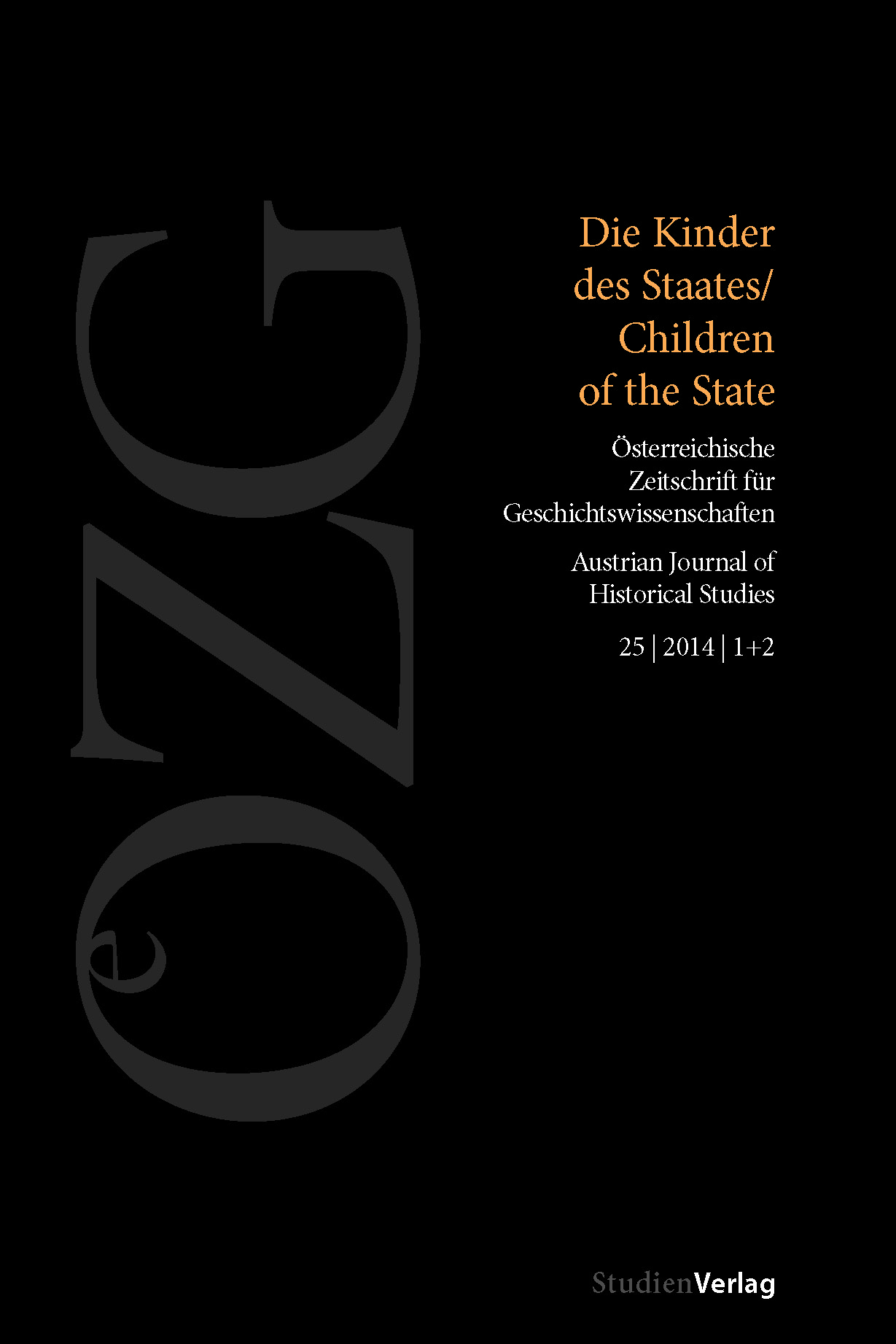 Ansehen Bd. 25 Nr. 1-2 (2014): Die Kinder des Staates