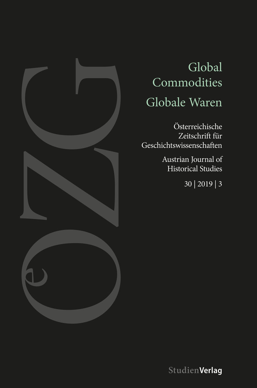 Ansehen Bd. 30 Nr. 3 (2019): Global Commodities / Globale Waren