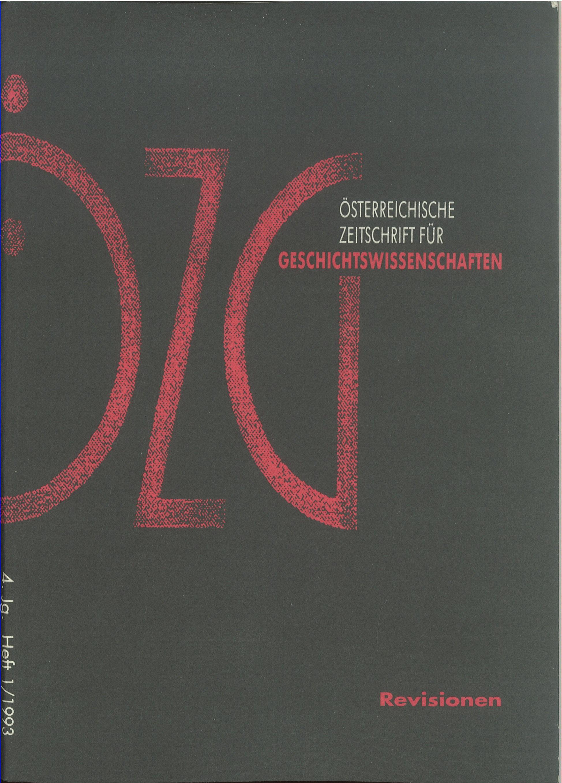 Ansehen Bd. 4 Nr. 1 (1993): Revisionen
